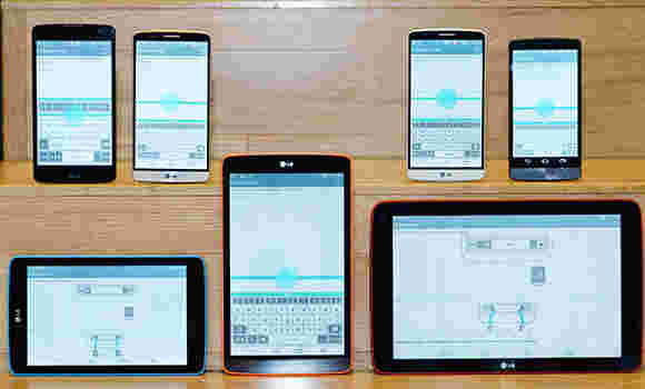 LG将使G3 UX带到低频和中档设备