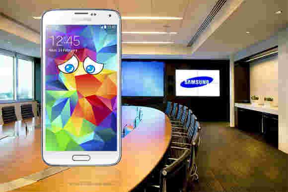 分析师:Galaxy S5销售拖尾iPhone 5s,Galaxy S4