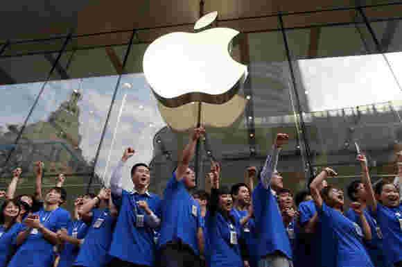 中国政府表示,苹果产品没有被禁止