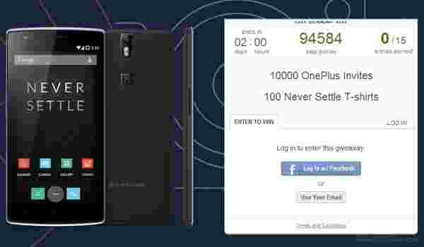 OnePlus赠送了10,000份购买邀请