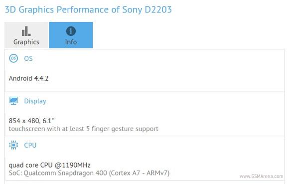 索尼正在使用低端6.1英寸智能手机