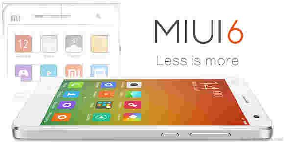 小米宣布MIUI 6恭维外观,更多功能