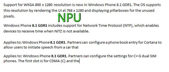 Windows Phone 8.1 GDR1更新以在开始屏幕上携带文件夹