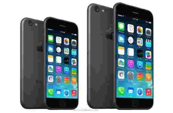 "5.5""iPhone 6倾向于拥有比4.7""模型更快的CPU"