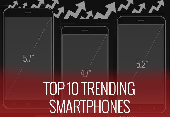 第26周的前10名趋势手机