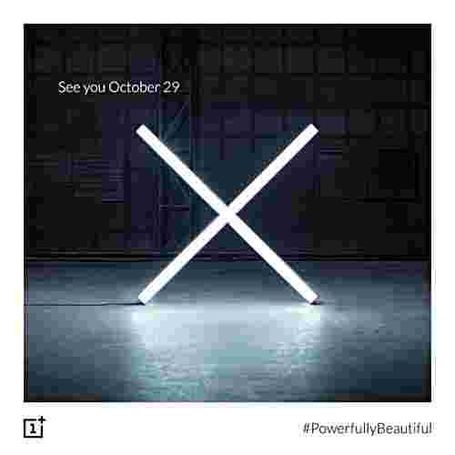 新的预告值表明OnePlus x于10月29日到达