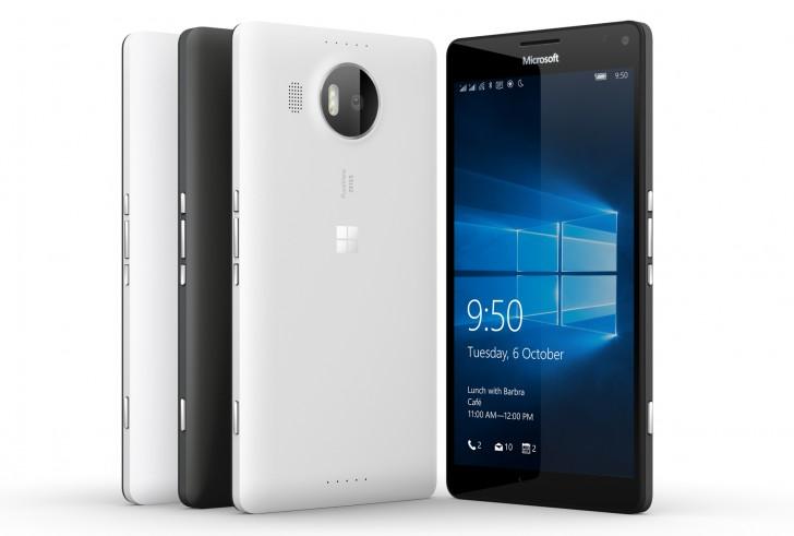 微软在印度宣布了Lumia 950和950 XL