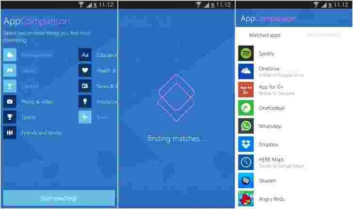 Microsoft的新应用程序显示了您的Android应用程序中的少数位于Windows手机上