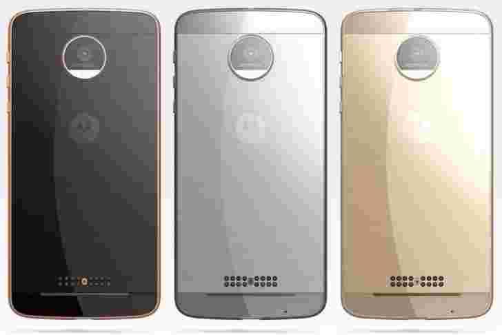 Moto Z Droid Edition将其泄露的新闻渲染呈现,三种颜色版本