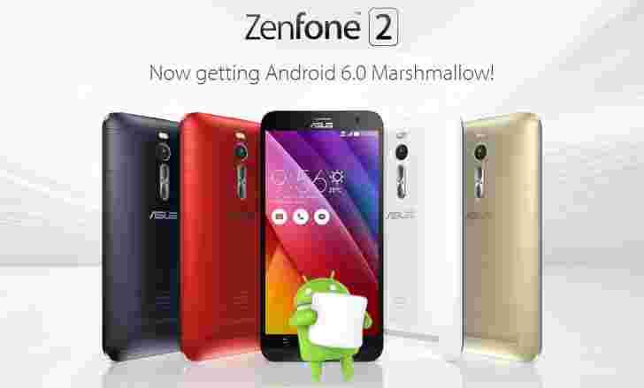 华硕Zenfone 2 ZE551ML和ZE550ML获取棉花糖更新