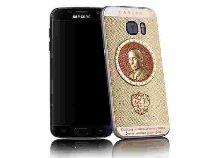 Galaxy S7获得Putinkphone Do-over,成本高达27,000美元