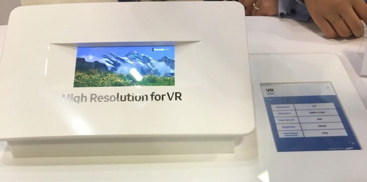 三星为VR建造了5.5英寸4K智能手机屏幕