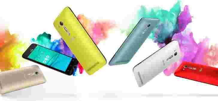 华硕Zenfone Go(Zb450kl)在俄罗斯打破地面,费用为123美元