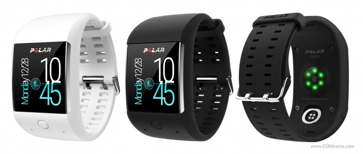 Polar M600 Android Wear手表将追踪您的活动24/7 ... 2天内2天