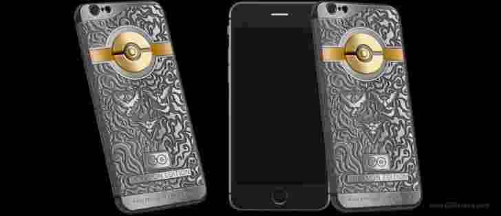 鱼子酱启动有限的Pokemon版iPhone 6s