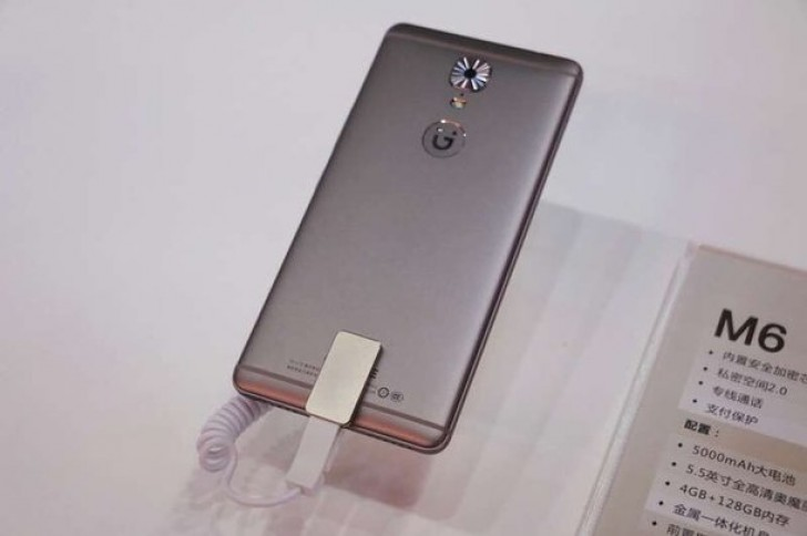 Gianee M6和M6 Plus推出:巨大的手机,巨大的电池