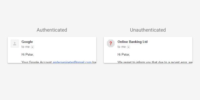 Google更新了新的安全警告的Gmail