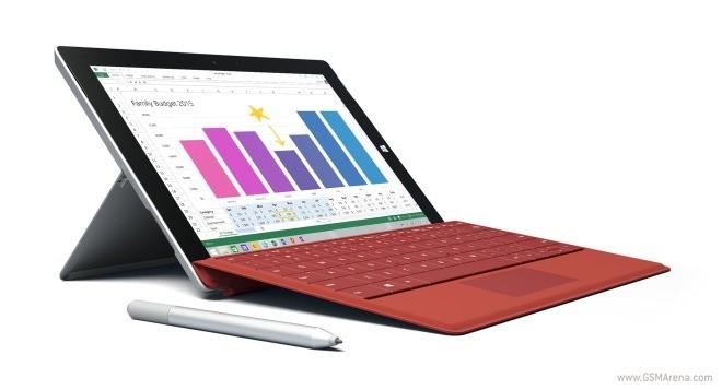 新的Microsoft Surface 3更新沿几种改进