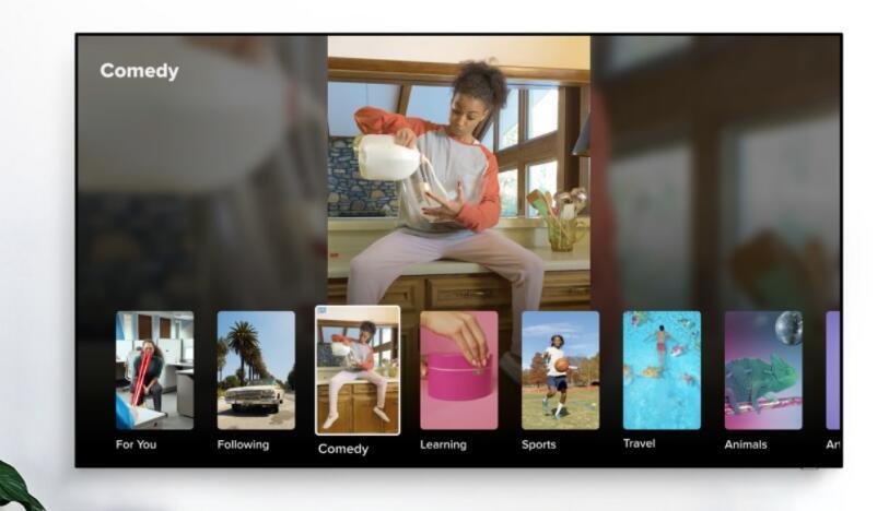 TikTok进入美国三星智能电视
