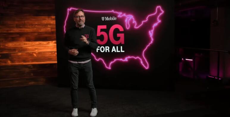 "T-Mobile推出""免费"" 5G电话以旧换新优惠"